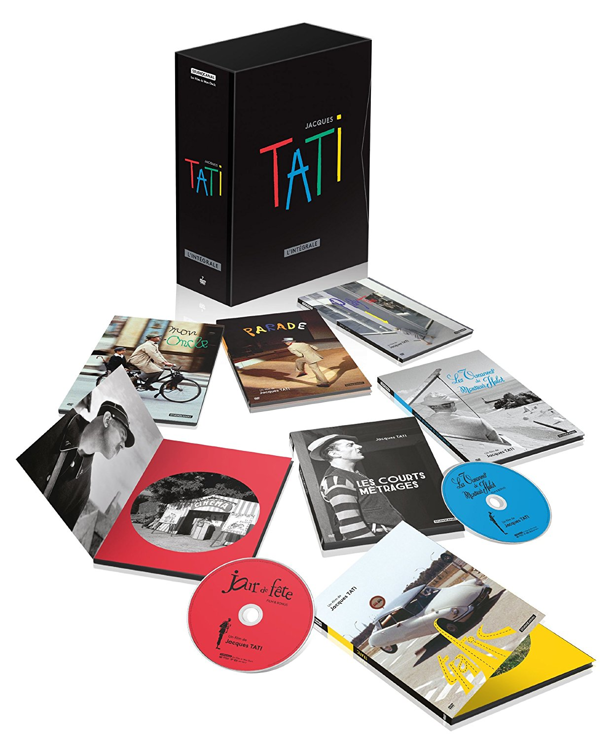 JACQUES TATI COFFRET INTEGRALE