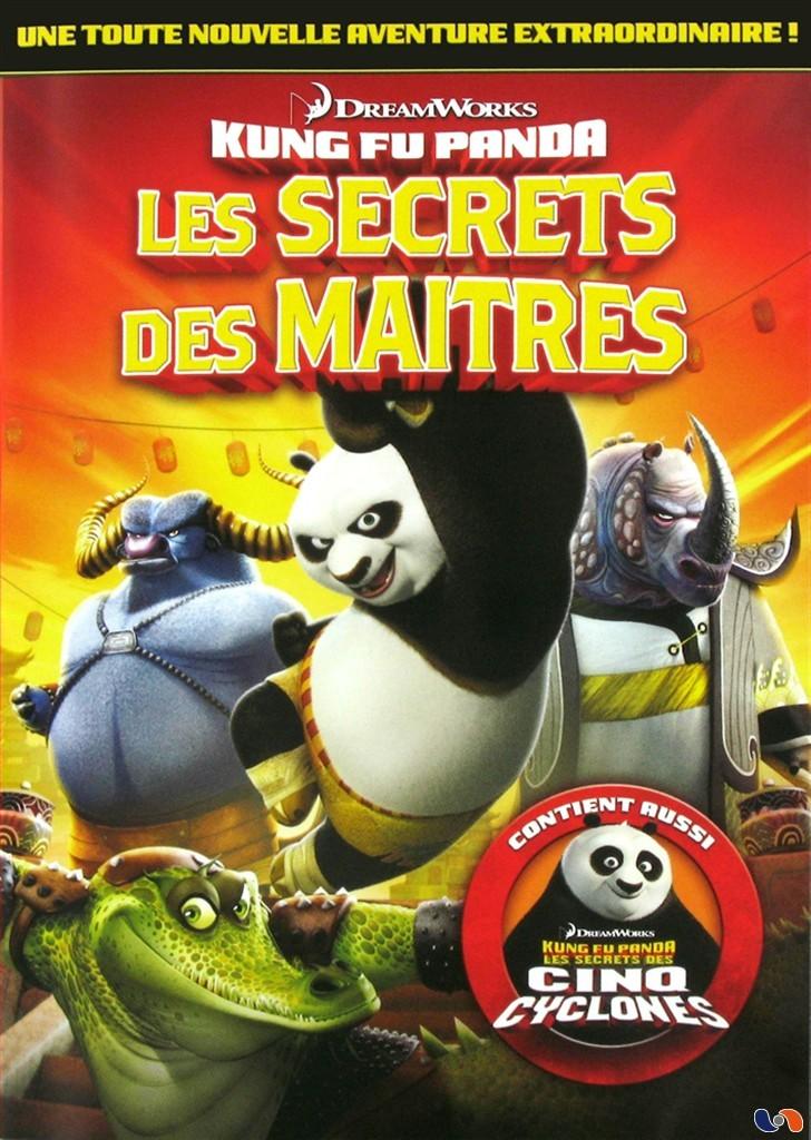 Librairie du cin ma kung fu panda les secrets des maitres - Maitre kung fu panda ...